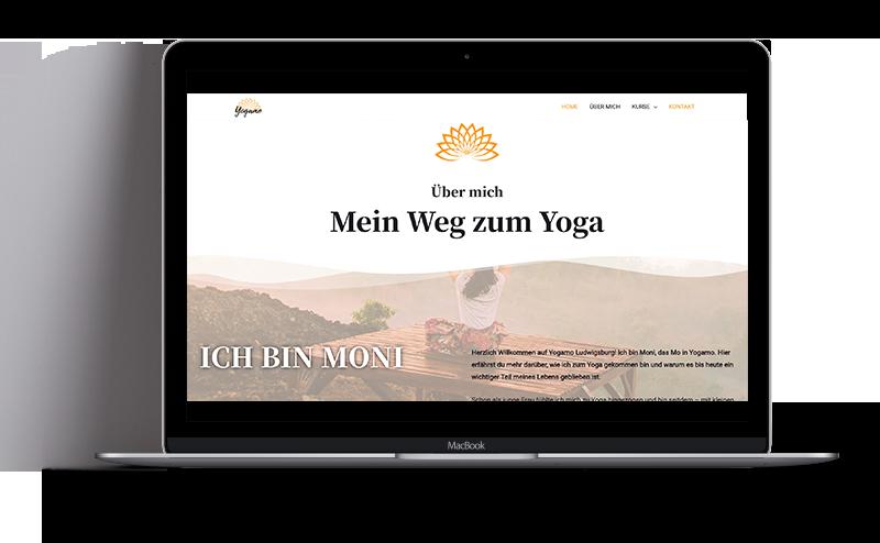 Yogalehrer Website